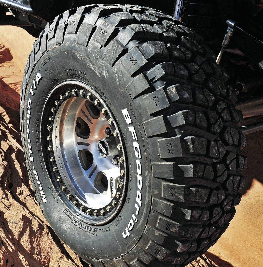 Ford Ranger All Terrain Tires: BF GOODRICH